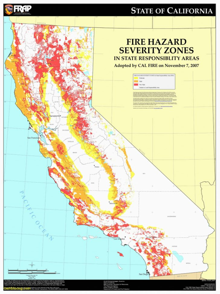 Map Of Current California Wildfires