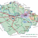 Fort Bend County | The Handbook Of Texas Online| Texas State   Katy Texas Map