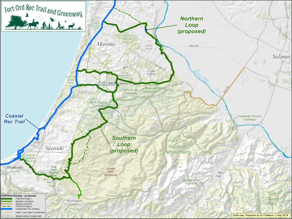 Fortag Maps - Seaside - Seaside California Map