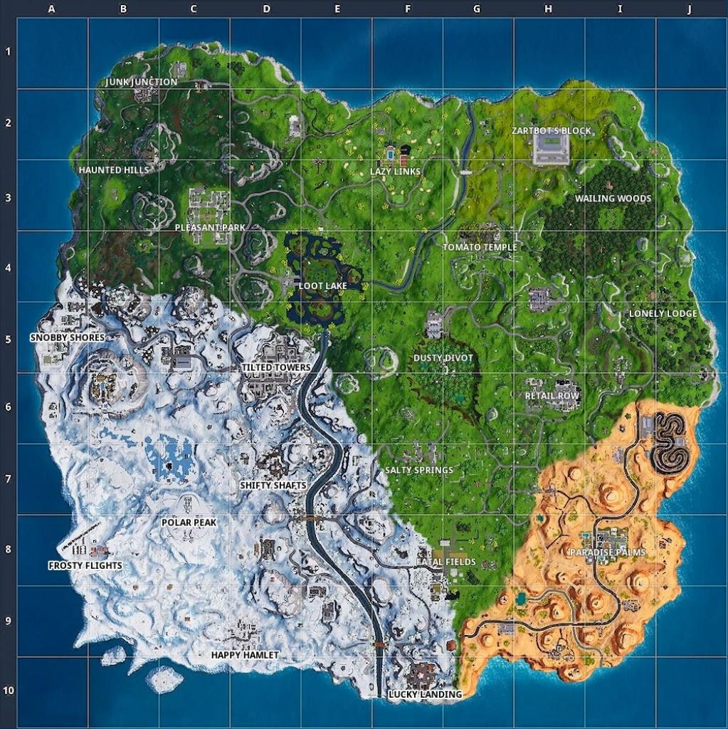 Fortnite Map Season 1 Vs Season 8   Fortnite Cheat Free V Bucks - Printable Fortnite Map