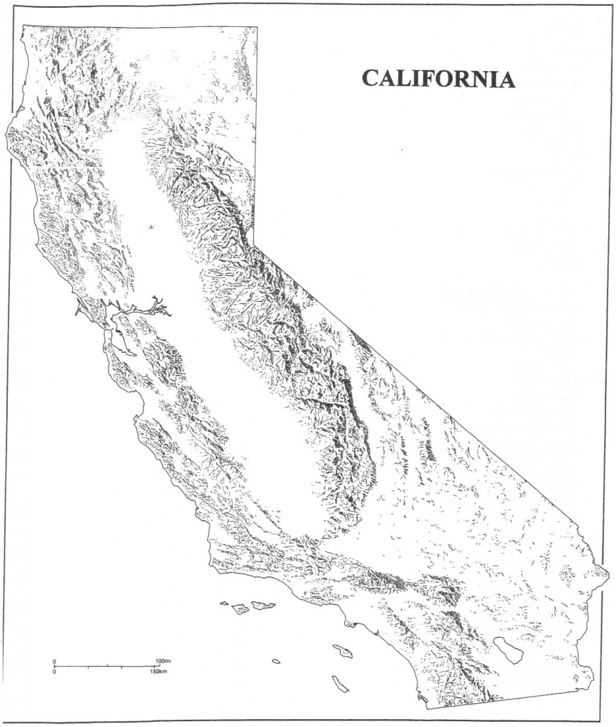 Free California Map Outline, Download Free Clip Art, Free Clip Art - California Regions Map Printable