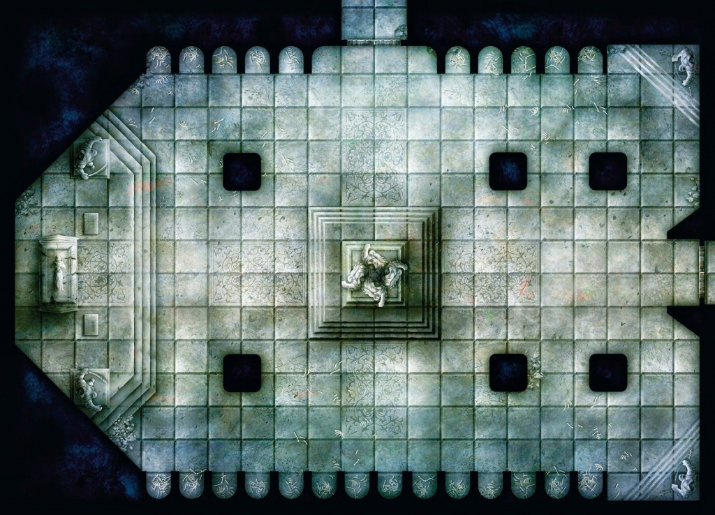 Free Dungeon Tiles To Print   Fantasy Maps In 2019   Rpg, Jdr - Star Wars Miniatures Printable Maps