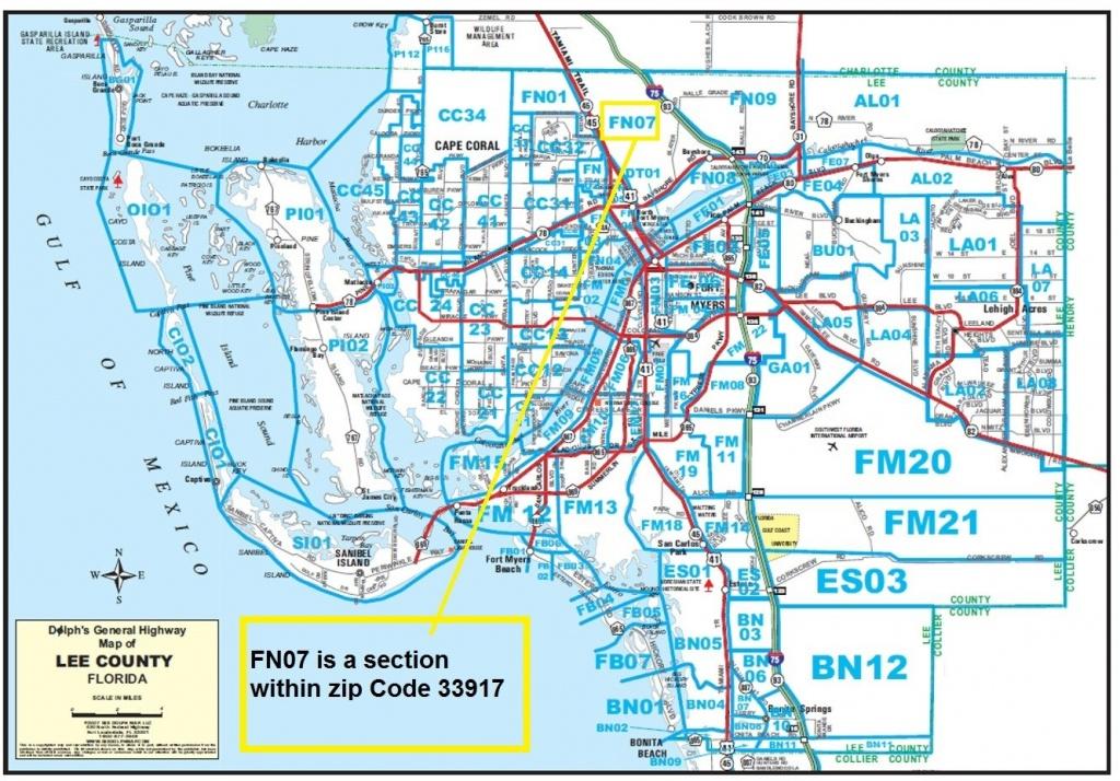 Free Lee County Florida Realtor Map - Sw Florida Real Estate Resources - Fort Meyer Florida Map