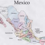 Free Mexico Geography Printable Pdf With Coloring Maps, Quizzes   Printable Map Of Mexico