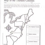 Free Printable 13 Colonies Map … | Activities | 7Th G…   13 Colonies Blank Map Printable