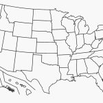 Free Printable Map Of The United States | D1Softball - Printable Map Of The United States
