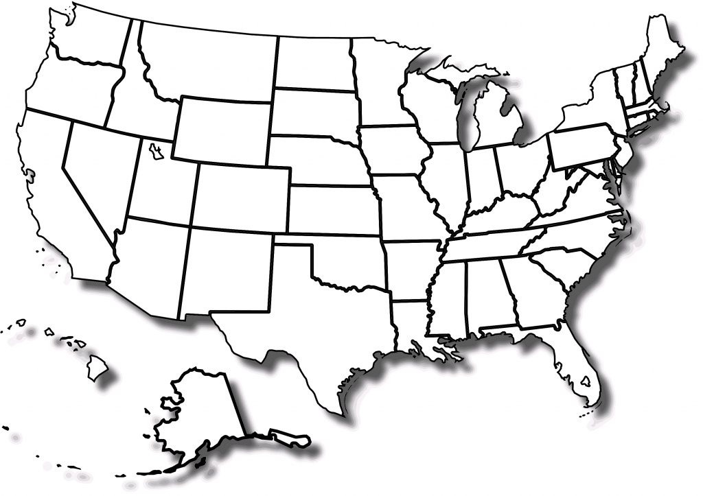 Free Printable Map Of The United States With State Names And Travel - Free Printable Map Of The United States