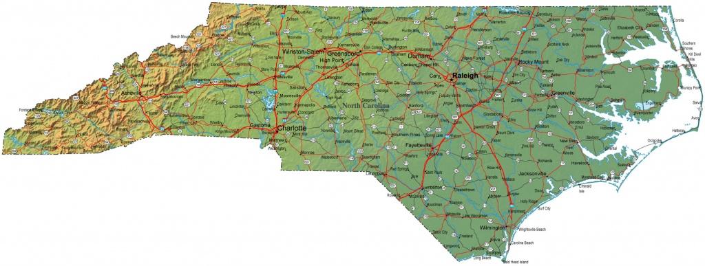 Free Printable Maps: Printable Maps North Carolina | Printfree - Printable Street Map Of Greenville Nc