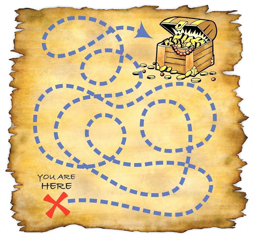 Free Printable Treasure Map (76+ Images In Collection) Page 2 - Free Printable Treasure Map