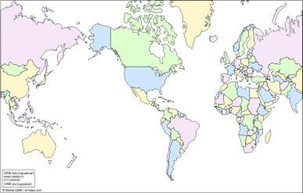 Free Printable World Map - Printable Country Maps
