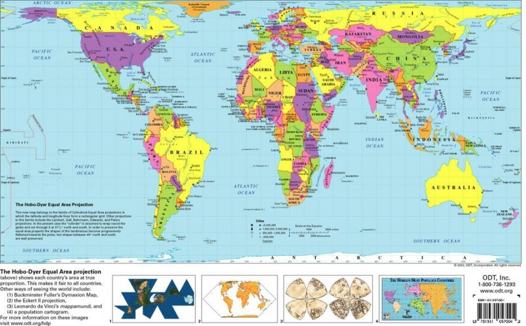 Free World Map Printable | Sitedesignco - Free Printable World Map For Kids With Countries