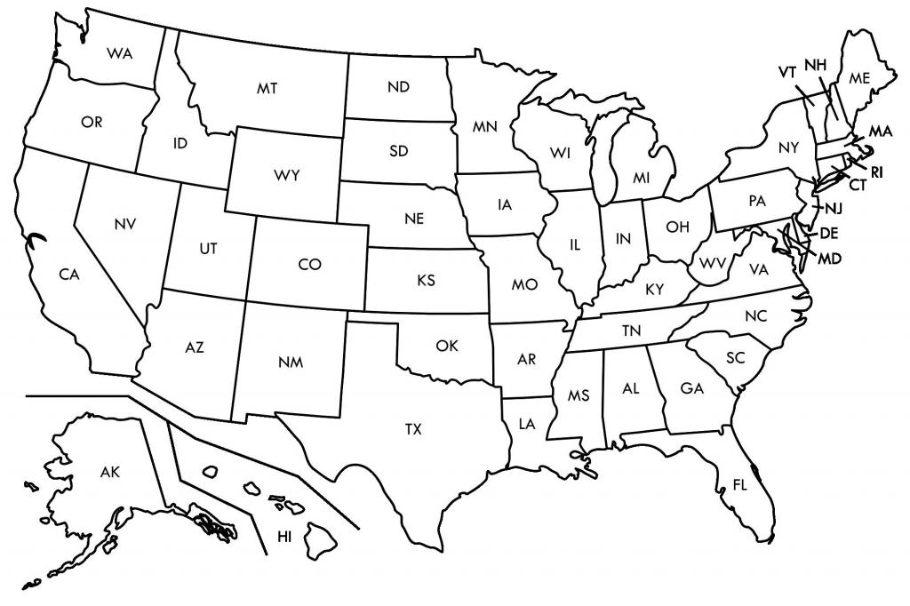 Fresh Free Printable Us Map Blank Usamap | Beykoz-Kurye - Printable Usa Map