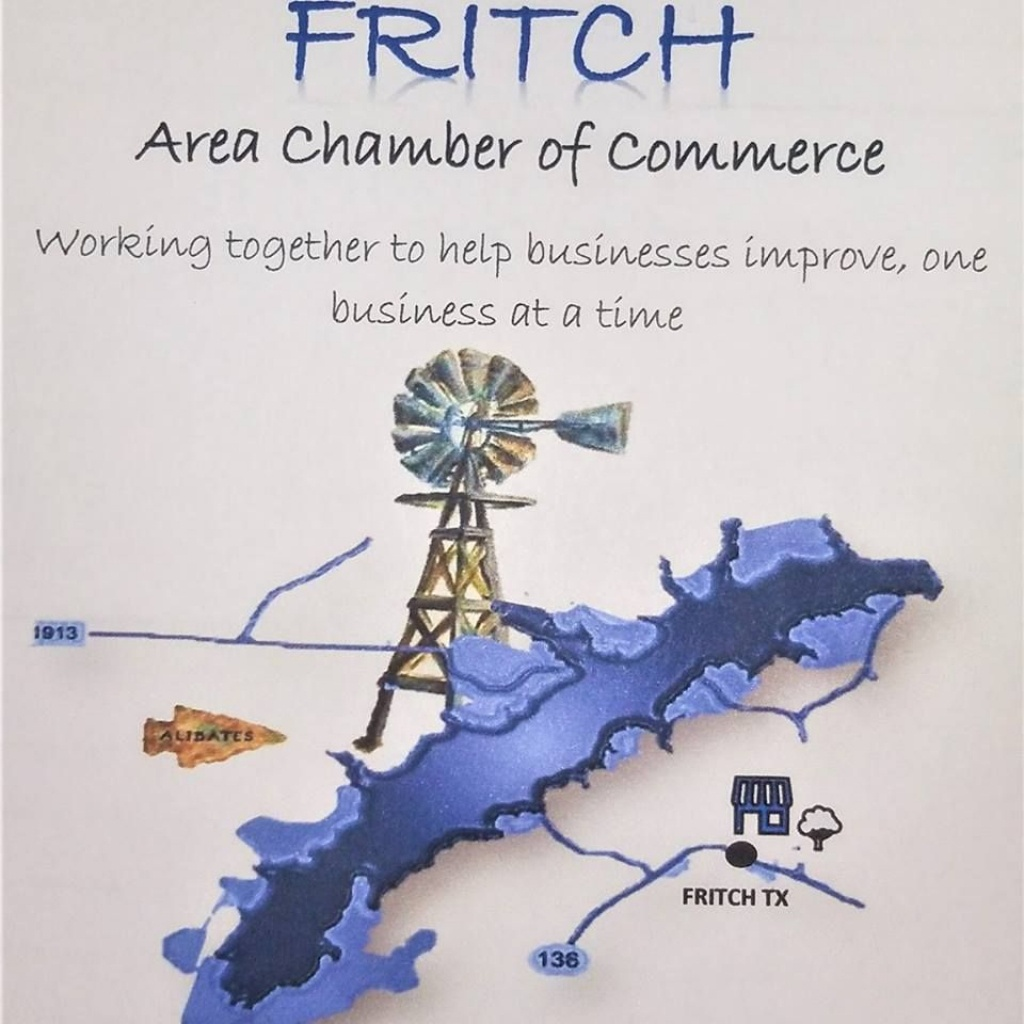 Fritch Area Chamber Of Commerce Map Updates - Fritch Texas Map