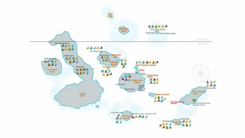 Galapagos Islands Map (98+ Images In Collection) Page 3 - Printable Map Of Galapagos Islands