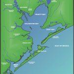 Galveston Bay | The Handbook Of Texas Online| Texas State Historical   Map Of Galveston Texas