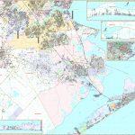 Galveston, Tx Wall Map   Maps   Map Of Galveston Texas