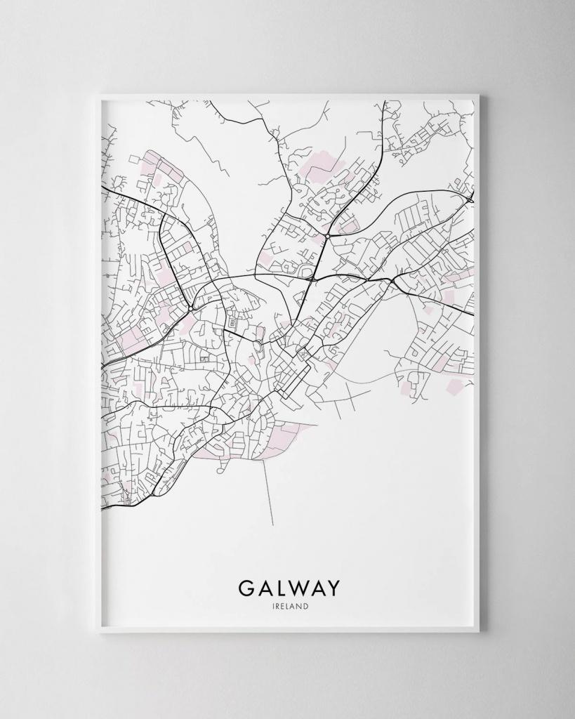Galway Map Print | Chelsea Chelsea - Galway City Map Printable