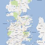 Game Of Thrones' Map: Fan Creates Google Maps Version Of Westeros   Printable Map Of Westeros
