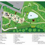 Garden Map Of Savannah Botanical Garden   Savannah Botanical Gardens   Florida Botanical Gardens Map