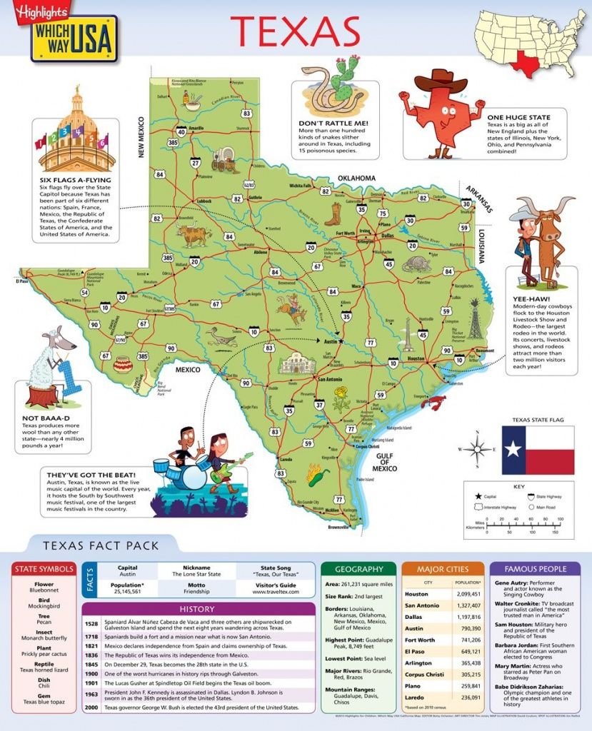Geography Books For Kids With Usa Puzzles   Which Way Usa - Texas Map Puzzle