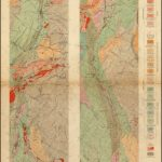Geological Map Of The Mother Lode Belt, California. . . .   Barry   California Mother Lode Map