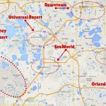 Getting Around The Orlando Theme Parks   The Trusted Traveller   Florida Theme Parks On A Map