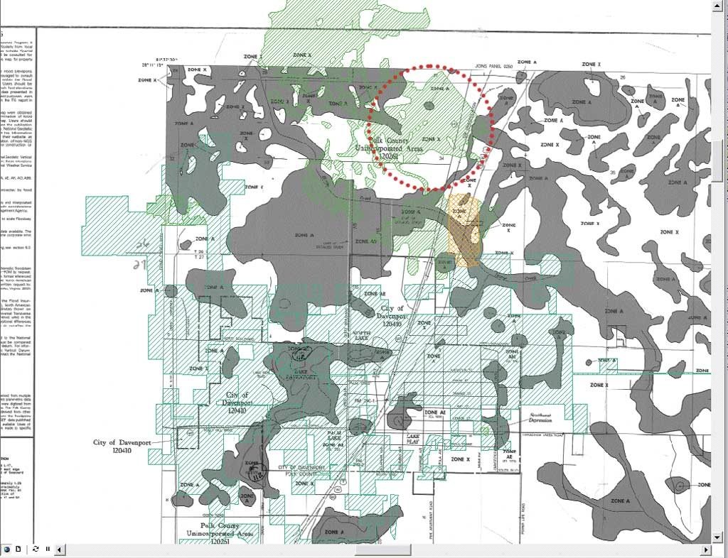 Gis-Ing Flood Data - Polk County Florida Parcel Map