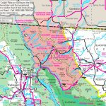 Glacier National Park Area Road Map - Printable Map Of Glacier National Park