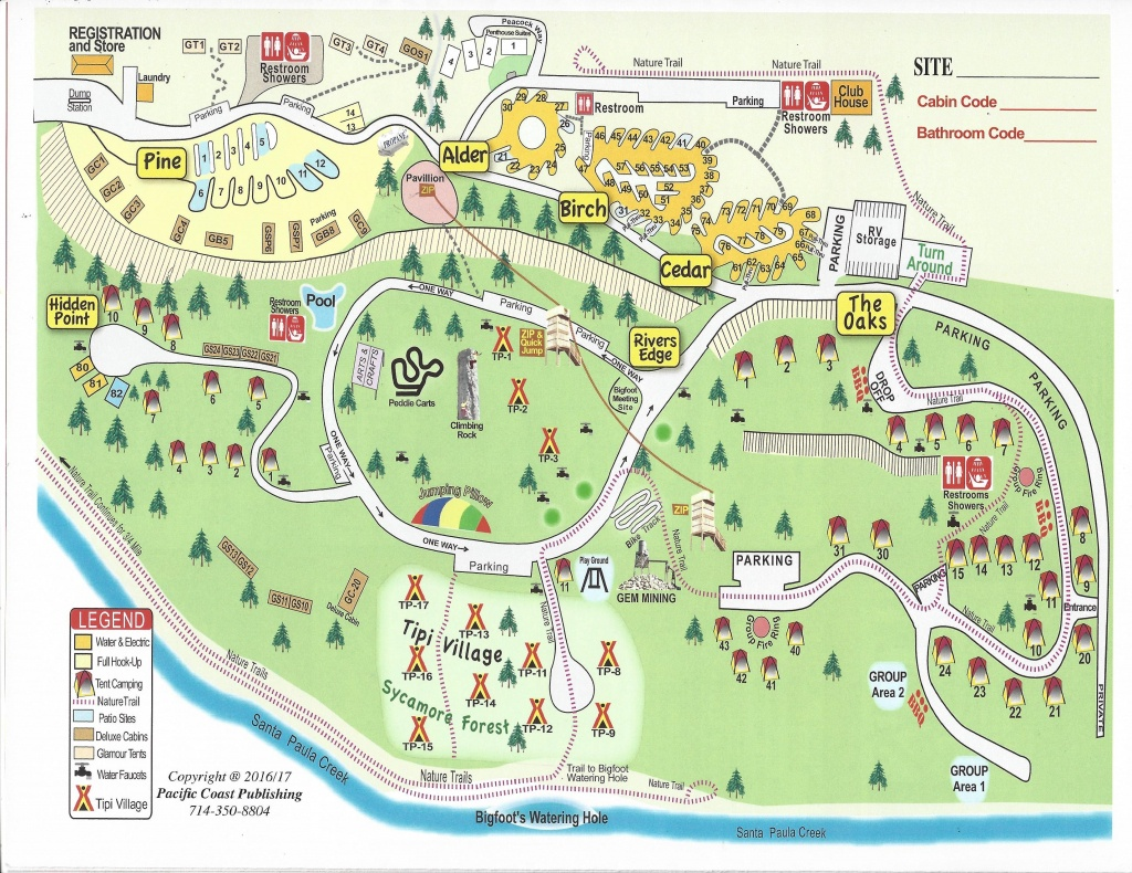 Glamping!!! Ventura Ranch Koa*** | Camp Grounds | Death Valley - California Tent Camping Map