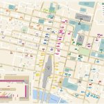Glasgow City Center Map   Glasgow City Map Printable