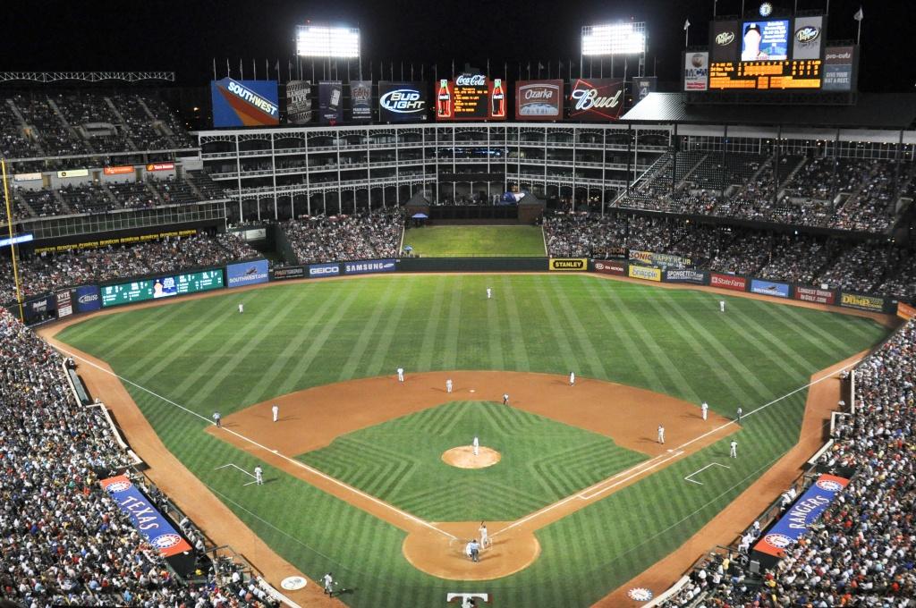 Globe Life Park In Arlington — Wikipédia - Texas Rangers Stadium Map