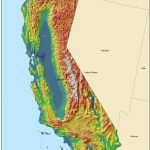Golden State Online   California Geography Map