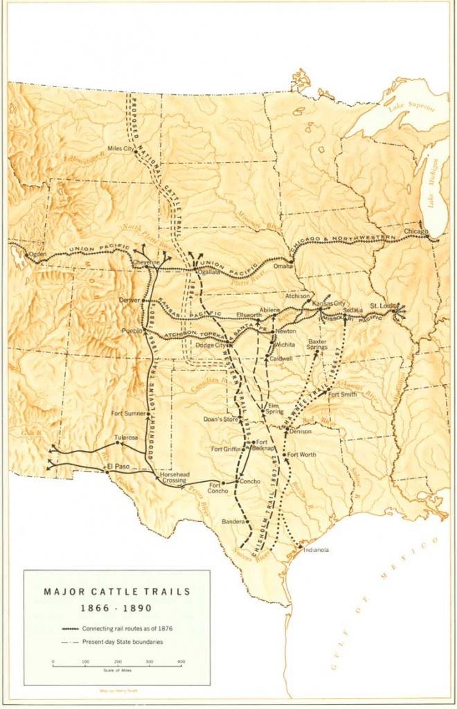 Goodnight–Loving Trail - Wikipedia - Texas Forts Trail Map