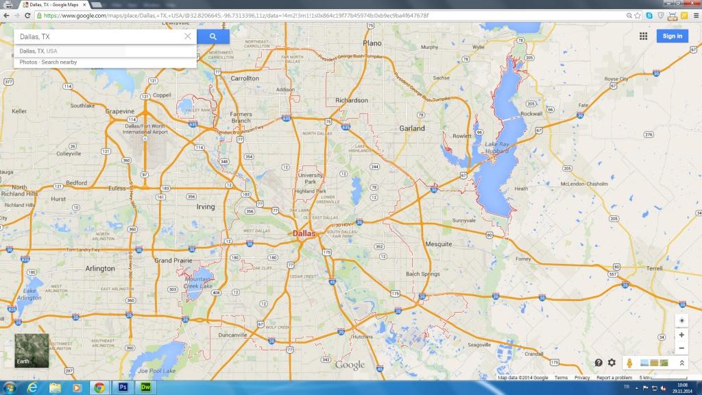 Google Map Of Dallas Texas | Download Them And Print - Google Maps Dallas Texas Usa