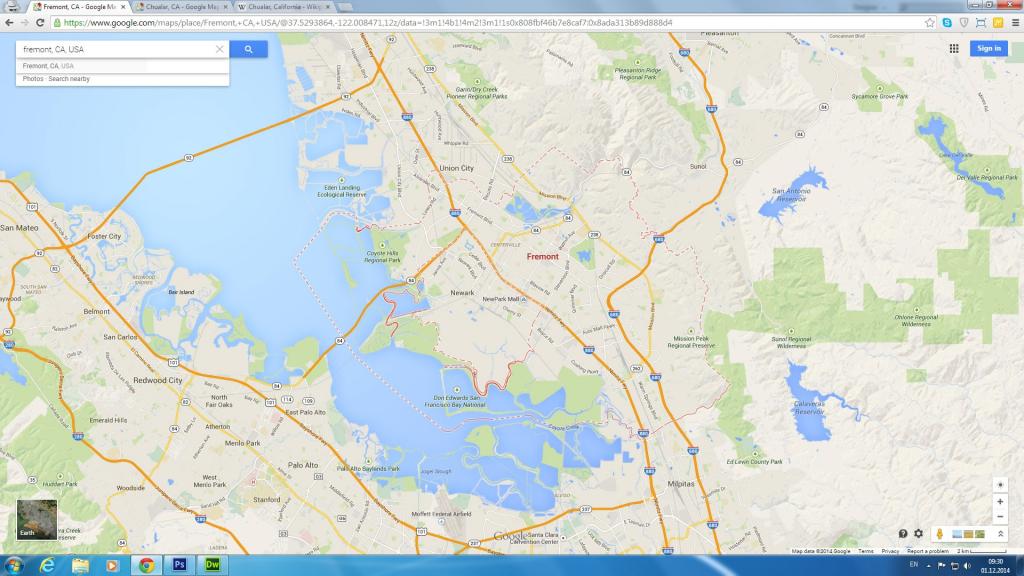 Google Map Palo Alto California – Map Of Usa District - Berkeley California Google Maps