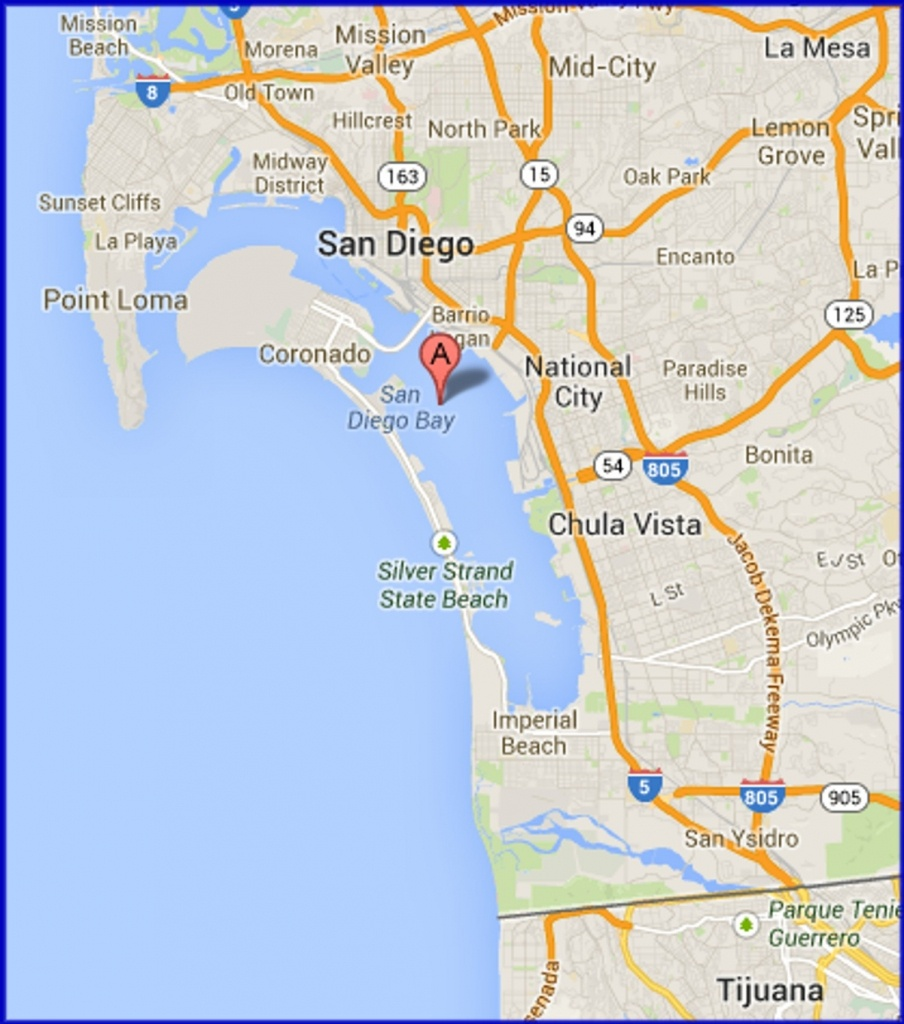 Google Map San Diego California – Map Of Usa District - Google Maps San Diego California