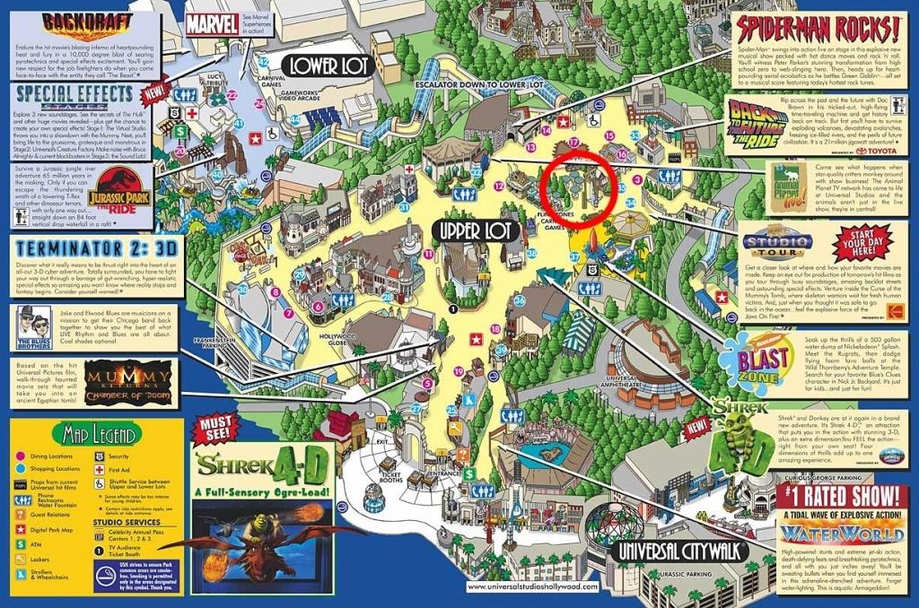 Google Map Universal Studios California – Map Of Usa District - Universal Studios California Map