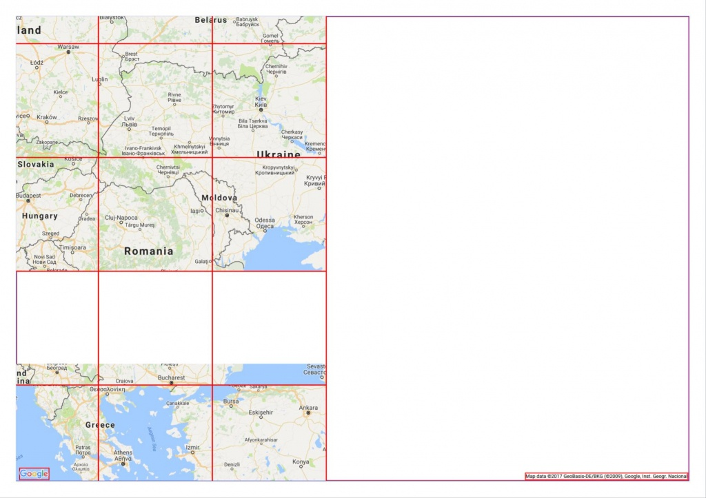 Google Maps Api Printing - Tiles Partially Missing - Geographic - Printable Google Maps