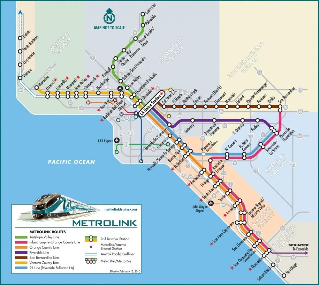 Google Maps California Amtrak Southern California Map | California - Amtrak Map Southern California