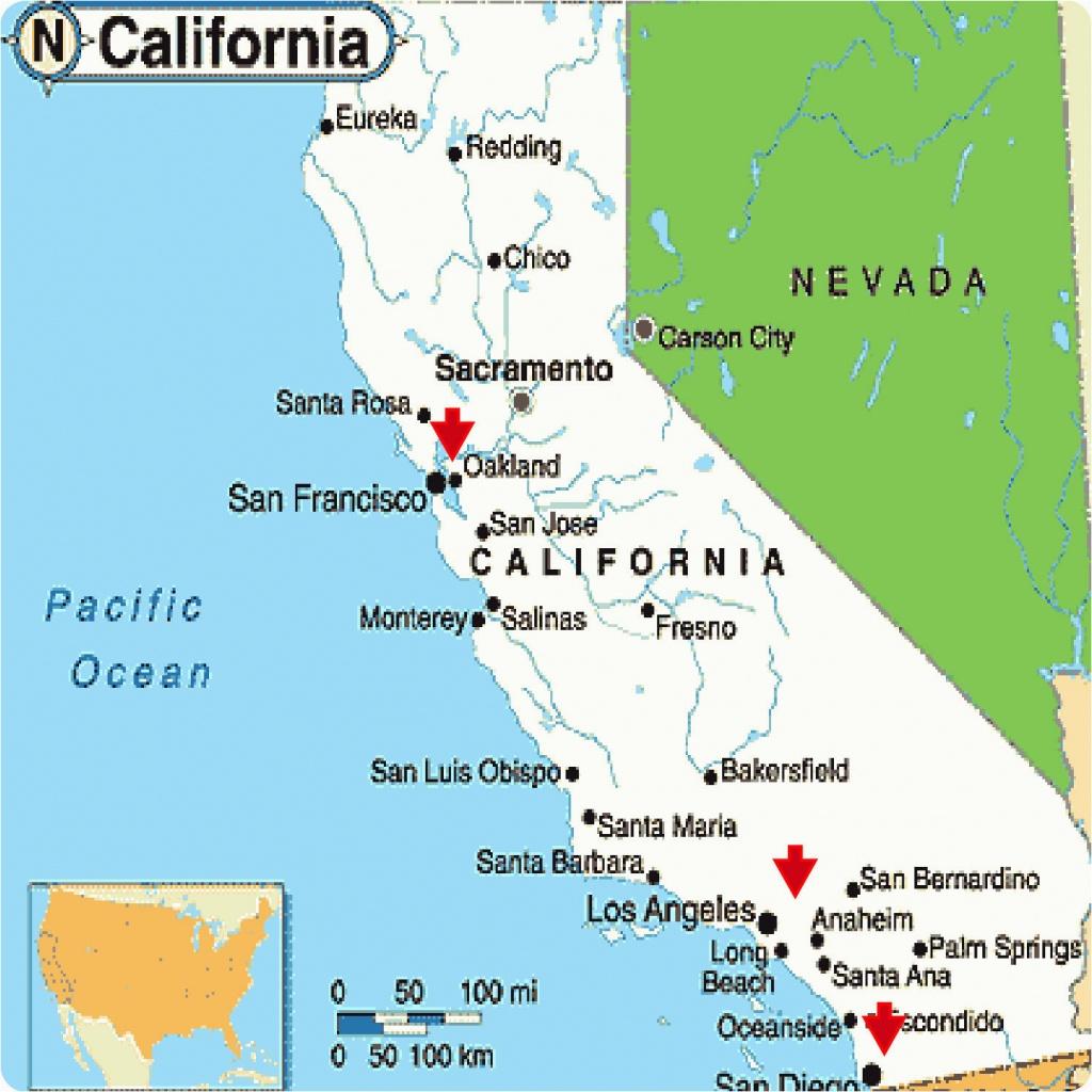 Google Maps California Coast Map California Google Map California - La California Google Maps
