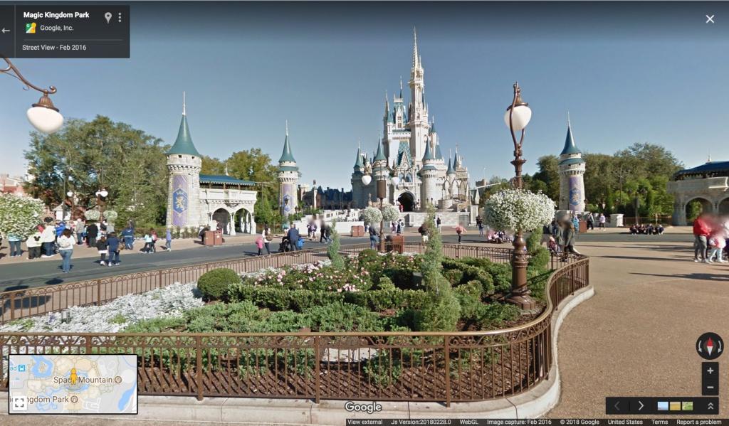Google Maps Now Has 11 Disney Parks On Street View | Travel + Leisure - Google Maps Hollywood Florida