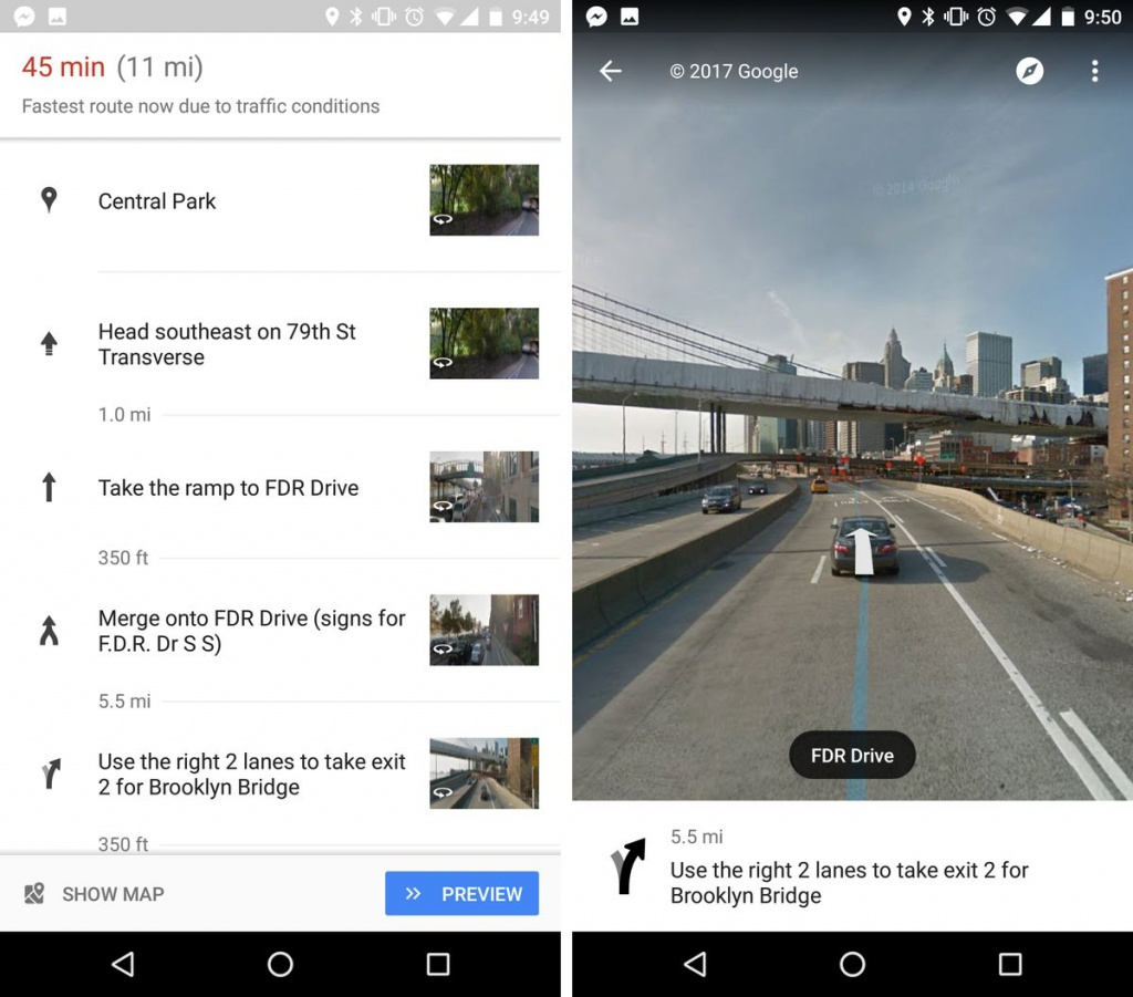 Google Maps Now Uses Street View To Show You Exactly Where To Make - Google Maps Magnolia Texas