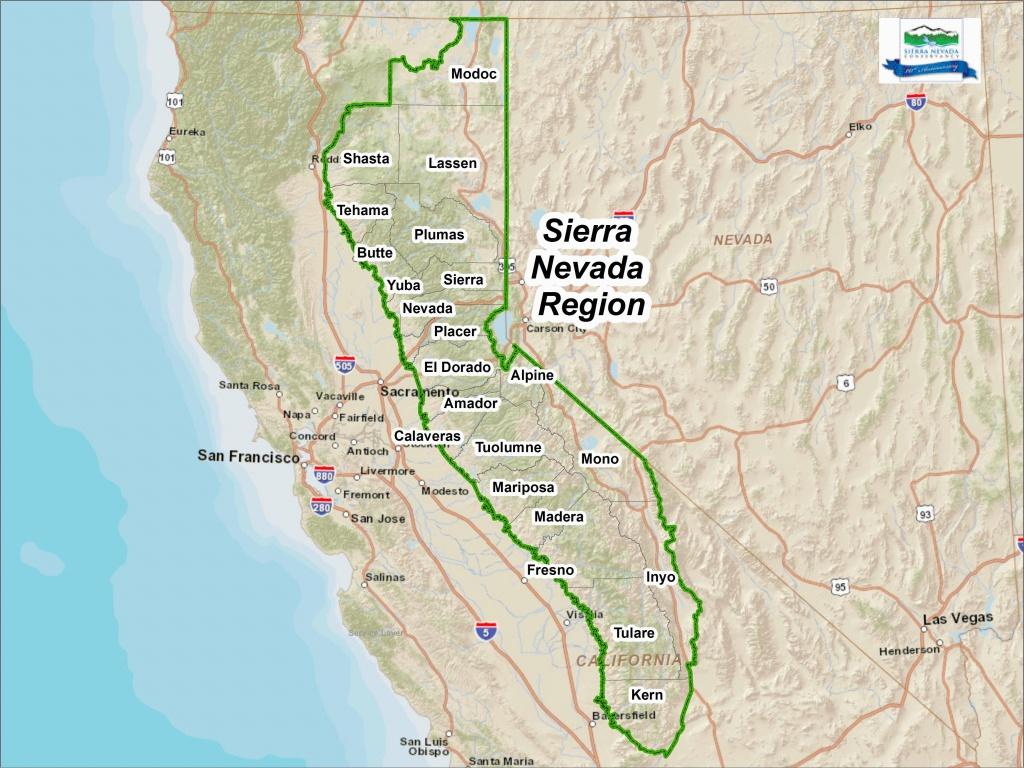 Google Maps Santa Ana California Sierra Nevada Map California Klipy - Google Maps California