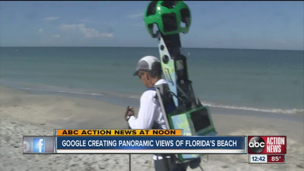 Google Maps Street View Cameras On Tampa Bay Area Beaches To Help - Map Of Tampa Florida Beaches