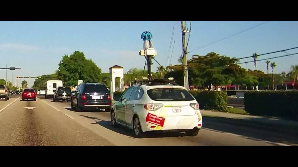 Google Maps Street View Car - Fort Myers, Florida - Youtube - Google Maps Fort Myers Florida