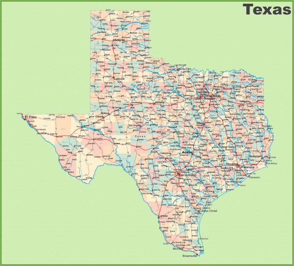Google Maps Texas Cities Road Map Of Texas With Cities – Secretmuseum - Google Texas Map