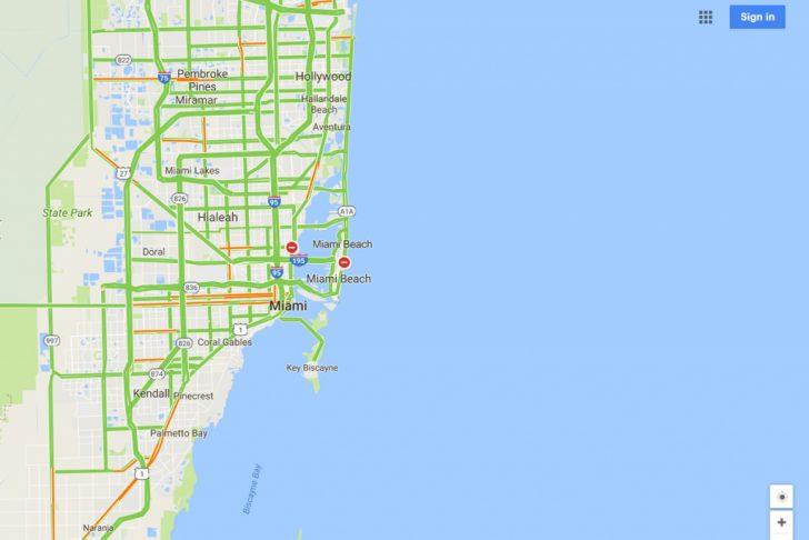 Google Florida Map