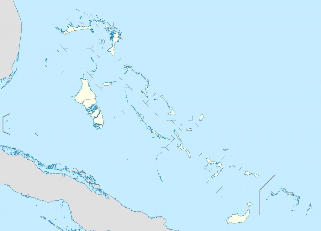 Grand Bahama - Wikipedia - Map Of Florida And Freeport Bahamas