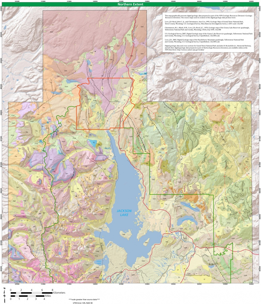 Grand Teton Maps | Npmaps - Just Free Maps, Period. - Printable Map Of Grand Teton National Park