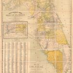 Granville's Railroad And Township Map Of Florida.: Geographicus Rare   Florida Maps For Sale
